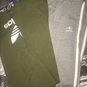 Bundle set adidas tights size small !!